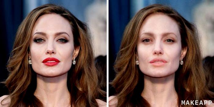 MakeApp - Angelina Jolie