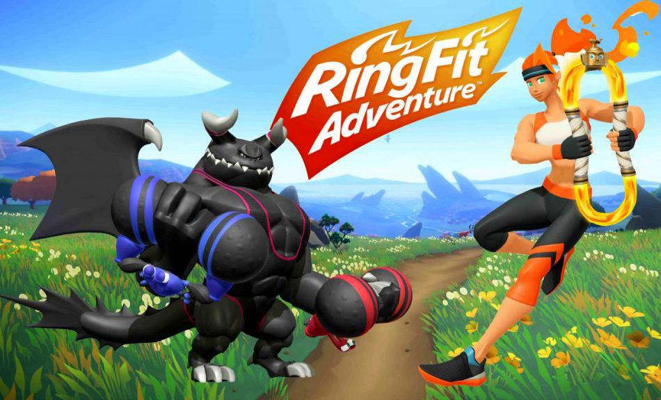 Nintendo Ring Fit Adventure ขายดีจนขาดตลาด