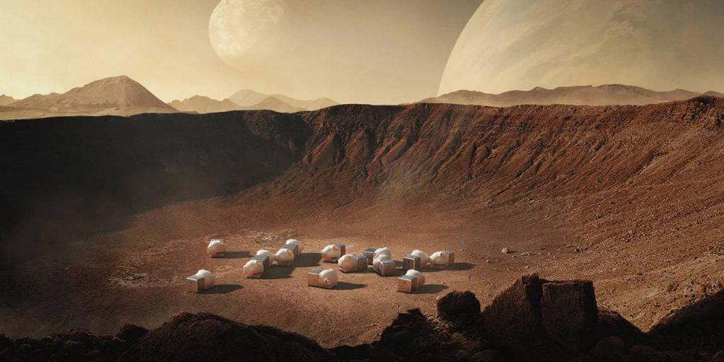 Xiaomi สร้างบ้านบนดาวอังคาร