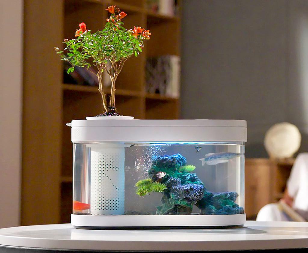 Xiaomi Geometry Control AI Fish Tank ตู้เลี้ยงปลาอัจฉริยะ