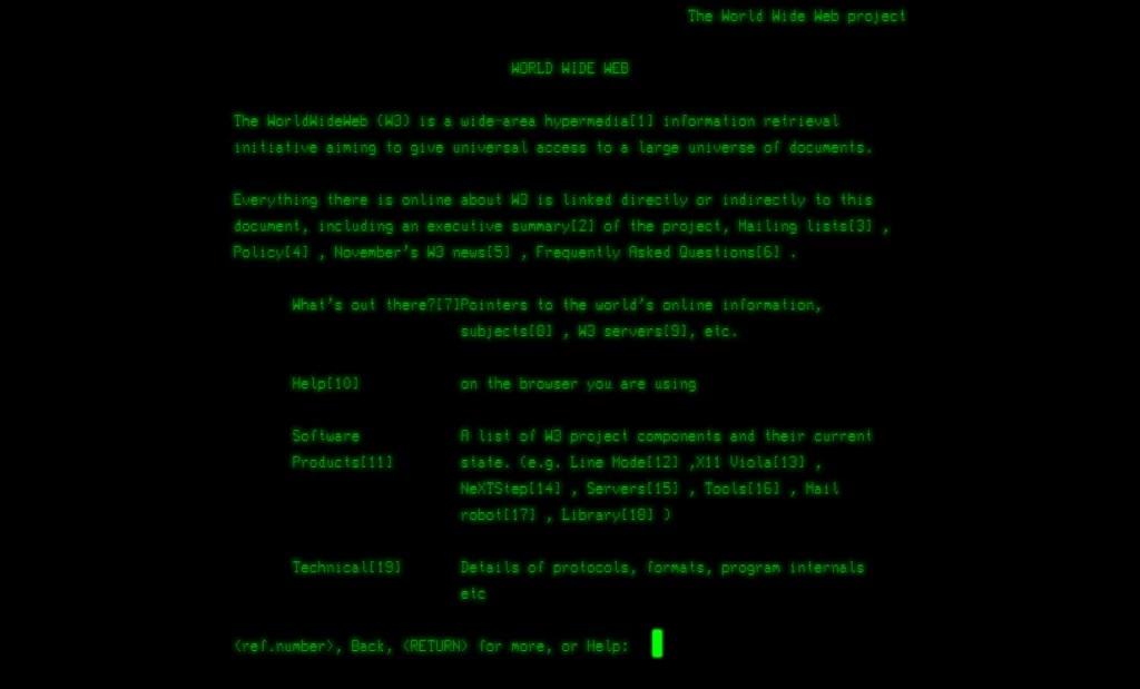 Screenshot-World-Wide-Web-project